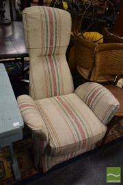 Sale 8532 - Lot 1127 - Upholstered Lounge Chair