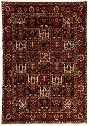 Sale 8760C - Lot 47 - A Persian Bakhtiyari And Classic Garden Design, 100% Wool On Cotton, Classed As Prerevolution Weave , 306 x 212cm