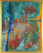 Sale 8838A - Lot 5006 - Margarita (Rita) Georgiadis (1968 - ) - Untitled (Abstract II) 75.5 x 60cm