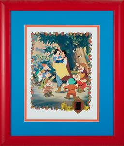 Sale 9097H - Lot 97 - A Snow white picture with a film frame, Edition 324/2500 size 65x56cm