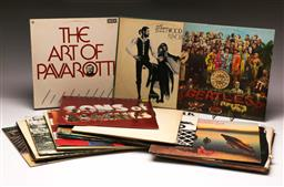 Sale 9136 - Lot 18 - A large collection of LP records incl Beatles and Australian Crawl