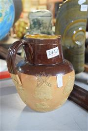 Sale 8396C - Lot 11 - Doulton Lambeth Pottery Jug
