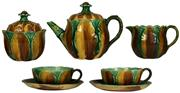 Sale 8065 - Lot 88 - Wedgwood Majolica Dejeuner Tea Set