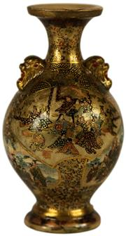 Sale 8057 - Lot 93 - Satsuma Vase