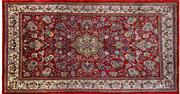 Sale 8256B - Lot 19 - Persian Kashan 247cm x 132cm RRP $1200
