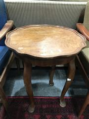 Sale 8817 - Lot 1028 - Carved Timber Side Table