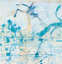 Sale 9189A - Lot 5014 - JOHN OLSEN (1928 - ) 'Morning at the Lily Pond, 1997' offset lithograph, ed. 92/99 63 x 61cm (frame: 94 x 85 x 5 cm) signed and date.