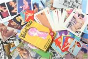 Sale 8626 - Lot 9 - Large Collection Of Nude And Pin Up Postcards And King Size Playing Cards