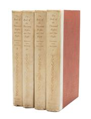 Sale 8864 - Lot 83 - MADRUS & MATHERS - The Book of 1001 Nights vols I - IV (1958)