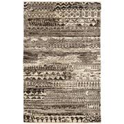 Sale 8860C - Lot 11 - An India Sahara Design Charcoal, in Handspun Wool 121x106 cm