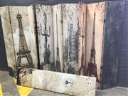 Sale 9017 - Lot 1084 - Collection of 4 Reproduction Screens (h:180cm)