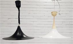 Sale 9188 - Lot 1365 - Unmatched two light fittings (h30 x d54cm)