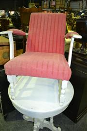 Sale 8093 - Lot 1503 - Pink Bedroom Chair
