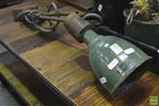 Sale 8284 - Lot 1077 - Industrial Lamp