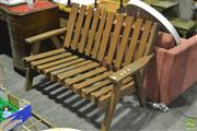 Sale 8302 - Lot 1065 - Outdoor Bench
