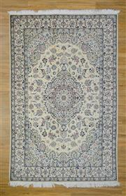 Sale 8559C - Lot 98 - Persian Nain Silk Inlaid 305cm x 200cm