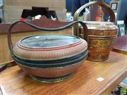 Sale 8589 - Lot 1049 - Two Chinese Food Containers
