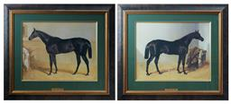 Sale 9103M - Lot 575 - Two framed prints of Charles XII1839 and Sweet Meat 1846, by JF Herring, frame size 65.5cm x 75.5cm