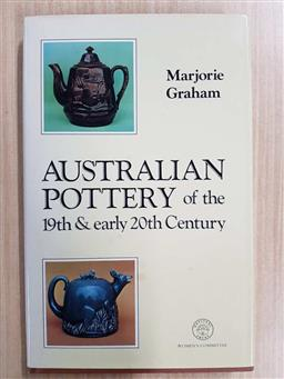 Sale 9180 - Lot 2089 - Marjorie Graham & Donald Graham Australian Pottery of the 19th & Early 20th Century 1979