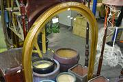 Sale 7987A - Lot 1071 - Large Arch Framed Mirror