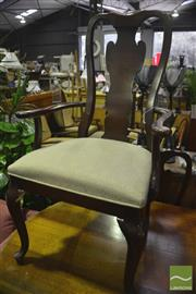 Sale 8307 - Lot 1092 - Set Of Four Drexel Dining Chairs Which Includes 1 Armchair