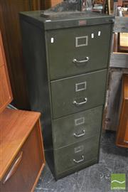 Sale 8326 - Lot 1078 - Metal Filing Cabinet