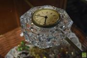 Sale 8530 - Lot 2205 - Quartz Crystal Clock