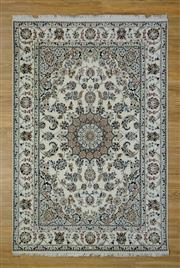 Sale 8559C - Lot 99 - Indo Persian Silk Inlaid 164cm x 245cm