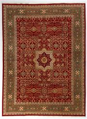 Sale 8740C - Lot 47 - An Afghan Chobi Naturally Dyed In Hand Spun Wool, Very Suitable To Australian Interiors, 365 x 271cm