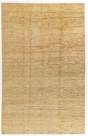 Sale 8760C - Lot 36 - An Afghan Chobi Naturally Dyed In Hand Spun Wool, Very Suitable To Australian Interiors, 349 x 227cm