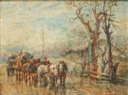 Sale 8821A - Lot 5100 - William Young - Horse Drawn Cart