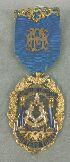 Sale 3682 - Lot 666 - A MASONIC JEWELLED MEDAL.