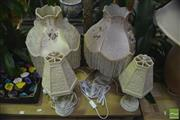 Sale 8289 - Lot 1042 - Two Pairs of Table Lamps