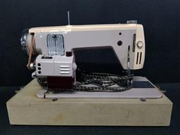 Sale 9254 - Lot 2286 - A vintage Lemair Helvetia sewing machine in case