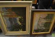 Sale 8461A - Lot 2078 - Group of (2) Original Artworks by New Zealand Artists Geoffrey Davis and Richard Pike, various sizes