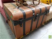 Sale 8465 - Lot 1090 - Metal Travelling Trunk
