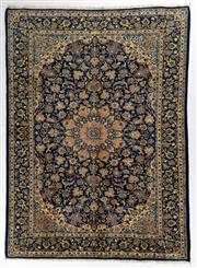 Sale 8740C - Lot 49 - A Persian Najafabad From Isfahan Region 100% Wool Pile On Cotton Foundation, 336 x 250cm