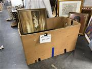 Sale 8910 - Lot 2098 - Box Collection of Assorted Paintings incl. quantity of C19th oils.