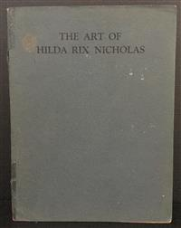 Sale 8176A - Lot 29 - The Art of Hilda Rix Nicholas. Published by Anthony Hordern and Sons 1919. Edition of 1000. Black and white tip-ins. Spine worn.