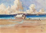 Sale 8622 - Lot 2012 - Alan McClure - Catamaran 33 x 46cm