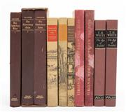 Sale 8864 - Lot 82 - Chaucer's Canterbury Tales, volumes I-II, together with another copy of volume I, three works by Siegfried Sassoon, two copies of Vi..