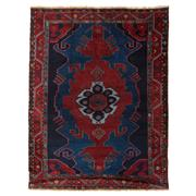 Sale 8860C - Lot 16 - An Antique Caucasian Kazak Rug, Circa 1950, in Handspun Wool 229x173cm