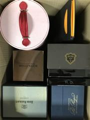 Sale 8933W - Lot 26 - Assortment of Empty Champagne Boxes