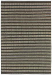Sale 8651C - Lot 9 - Colorscope Collection; Indoor/Outdoor, Olefin/Polyprop - Orange Stripe Rug, Origin: India, Size: 160 x 230cm, RRP: $669