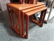 Sale 8723 - Lot 1004 - Danish Teak Nest of Tables