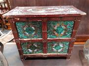 Sale 8740 - Lot 1069 - Balinese Hand Painted Small Chest of Drawers