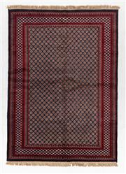Sale 8790C - Lot 59 - A Persian Turkaman, Wool On Cotton Foundation Classed As Tribal Rugs, 253 x 213cm