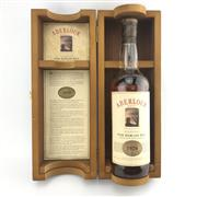 Sale 8875W - Lot 48 - 1x 1970 Aberlour Highland Single Malt Scotch Whisky - bottled 1991, evaporative losses, 43% ABV, 700ml in timber presentation box