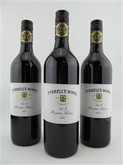 Sale 8385 - Lot 669 - 3x 2007 Tyrrells Vat 9 Shiraz, Hunter Valley