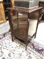 Sale 8697 - Lot 1672 - Mahogany Music Cabinet with Fitted Interior